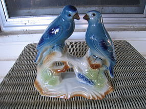 Vintage Bluebirds Figurine