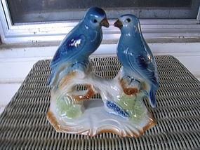Vintage Bluebirds Figurine