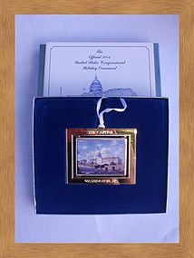 2001 United States Congressional Holiday Ornament