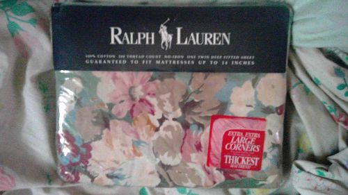 Ralph Lauren Melanie Twin Sheet