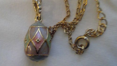 Avon Egg Necklace