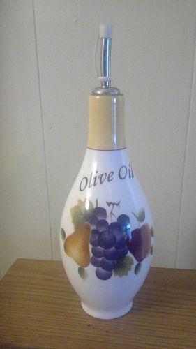 Home Interiors Sonoma Villa Oil Bottle