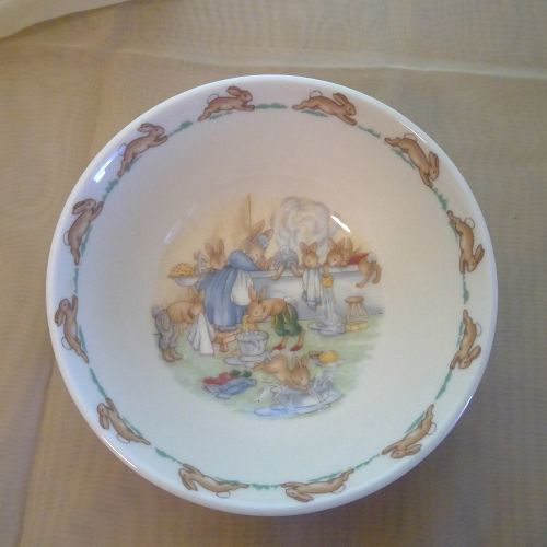 Royal Doulton Bunnykins  Bathtime Bowl