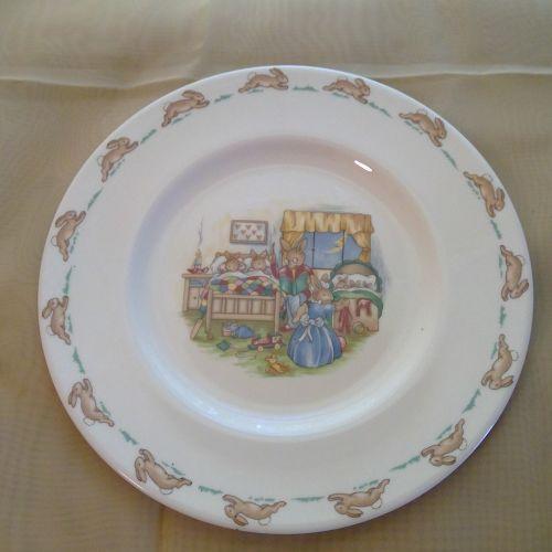 Royal Doulton Bunnykins Bedtime Plate