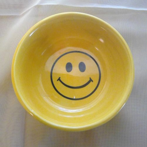 McCoy Smiley Face Bowl