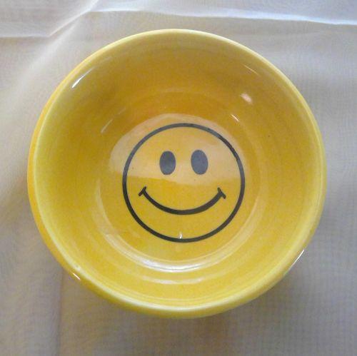 McCoy Smiley Face Bowl