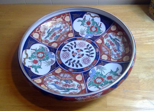Imari Gold Serving Bowl