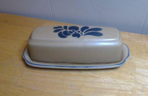 Pfaltzgraff Folk Art Butter Dish