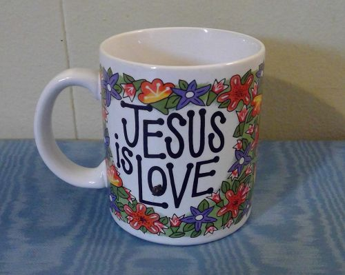 "Bob Siemon ""Jesus is Love"" Mug"
