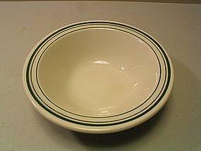 Homer Laughlin Green Bands Bowl