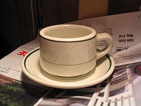 Caribe Cup and Saucer