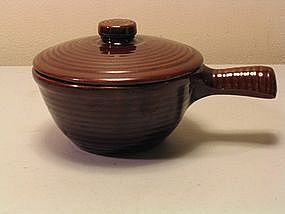 USA Brown Pottery Casserole