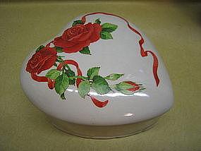 Porcelain Valentine Box