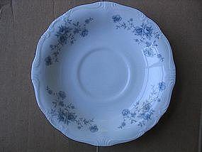 Johann Haviland Blue Garland Saucers