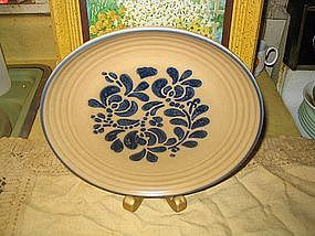 Pfaltzgraff Folk Art Plate Dinner  UNAVAILABLE