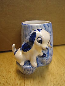 Delfts Blue Puppy
