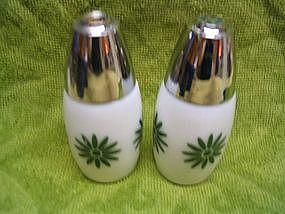 Daisy Salt & Pepper Shakers