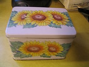 Corelle Sunsations Recipe Box
