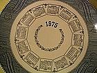 1975 Calendar Plate