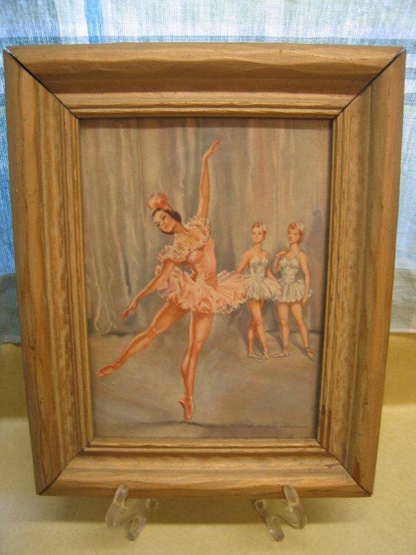 Andre Chevalier Ballet Print