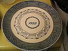 1983 Calendar Plate