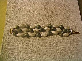 Trifari Bead Bracelet