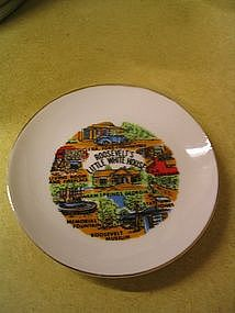 Souvenir Plate - Roosevelt's Little White House
