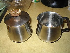 Rogers Insilco Creamer and Sugar