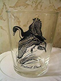 Hazel Atlas Pintail Duck Glass