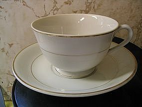 Vintage Porcelain Cup and Saucer