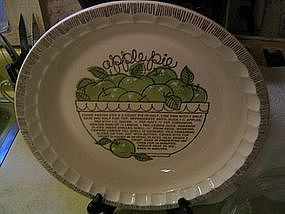 Royal China Apple Pie Pan