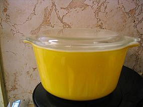 Pyrex Yellow Casserole