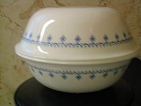 Corelle Snowflake Blue Bowl