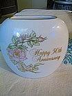 Enesco Anniversary Vase