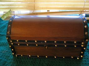 Wood Jewelry Chest