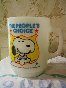 Snoopy for President Mug