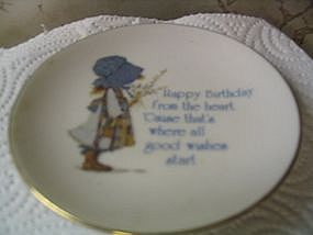 Holly Hobbie Birthday Plate