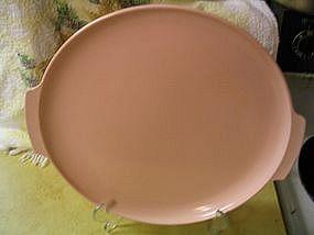 Melmac Pink Cake Plate