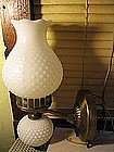 Milk Glass Wall Lamp