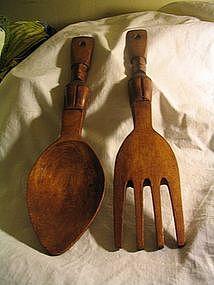 Tiki Spoon & Fork