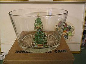 Home Interiors Christmas Bowl
