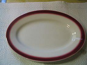 Buffalo China Platter