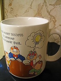 Vintage Novelty Office Mug