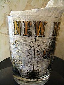 New Mexico Souvenir Glass