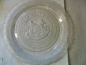 Fostoria West Virginia Plate