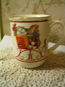Otagiri Christmas Mug