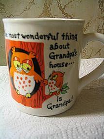 Grandpa Owl Mug