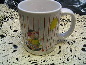 Vintage Clown Mug