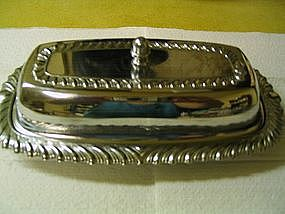 Chrome Butter Dish