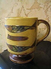 Pottery Fish Mug